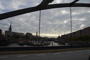 Hamburg Hafen Speicherstadt Niederbaumbrücke