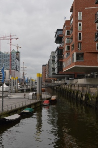 Speicherstadt Hamburg Hafen Fleet Elbphilharmonie