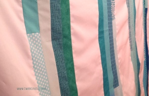 Turquoise Stripes Quilt 2