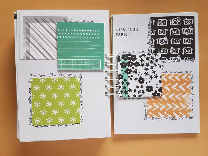 #1kit2blogs Lieblingspapier Amy Tangerine Plus one