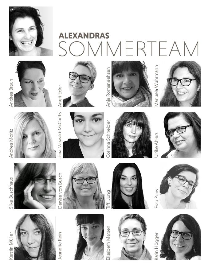 Alexandras Sommerteam